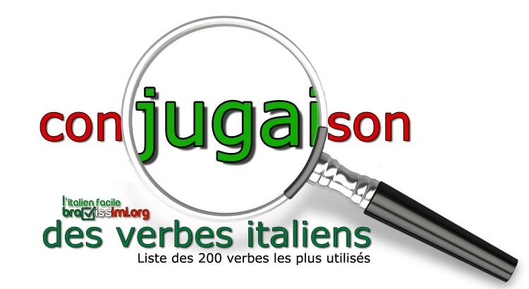 conjugaison verbes italiens