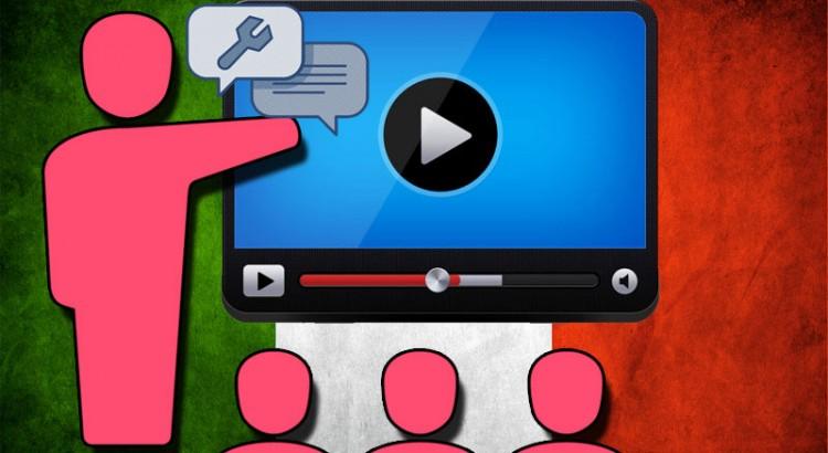 Tutoriels video et audio apprendre l'italien